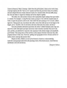 Clarion Review Page 1